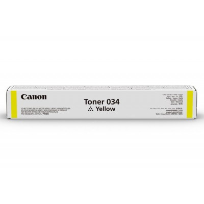 Canon 034 Yellow OEM
